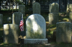 Washington Irving Rests in Sleepy Hollow by Tony Fischer, 2007