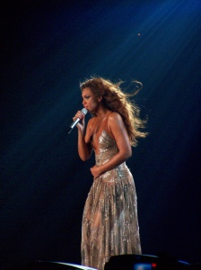 Figure 3. Beyonce Knowles, By Cornel Pex [CC-BY-2.0 (http://creativecommons.org/licenses/by/2.0)], via Wikimedia Commons.