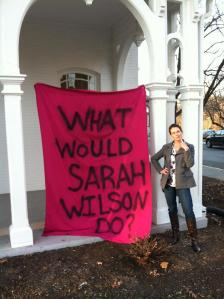 Sarah Ruth Wilson, November 4, 2013, Wilson College