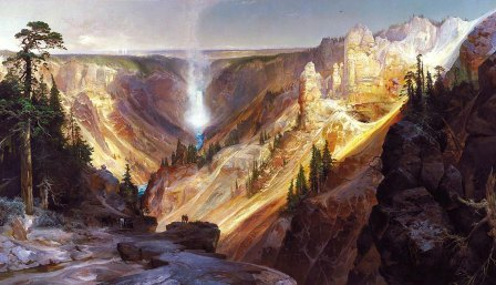 Moran, Grand Canyon Yellowstone, 1872 SAAM